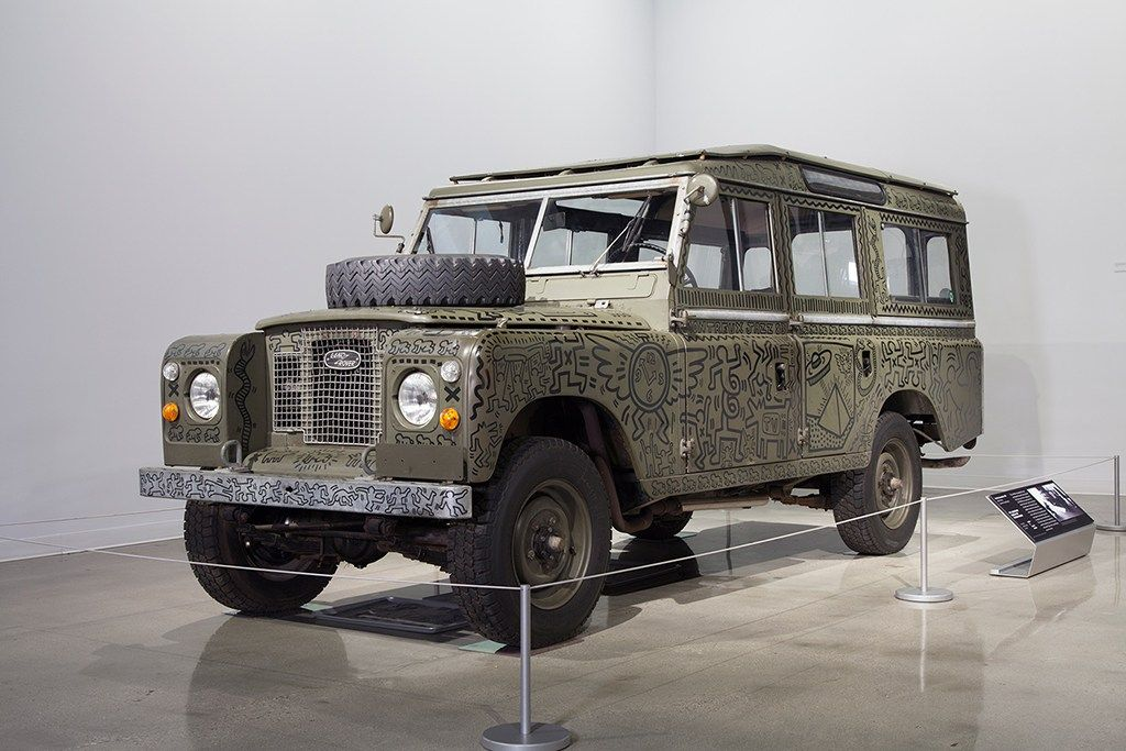 Keith Haring's Art Revisited at New Car Exhibition Keith