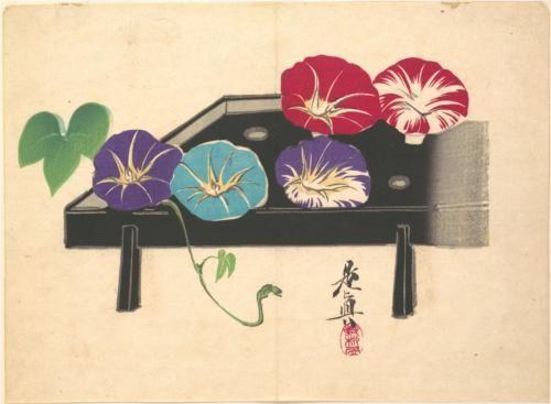 Morning Glories - Shibata Zeshin