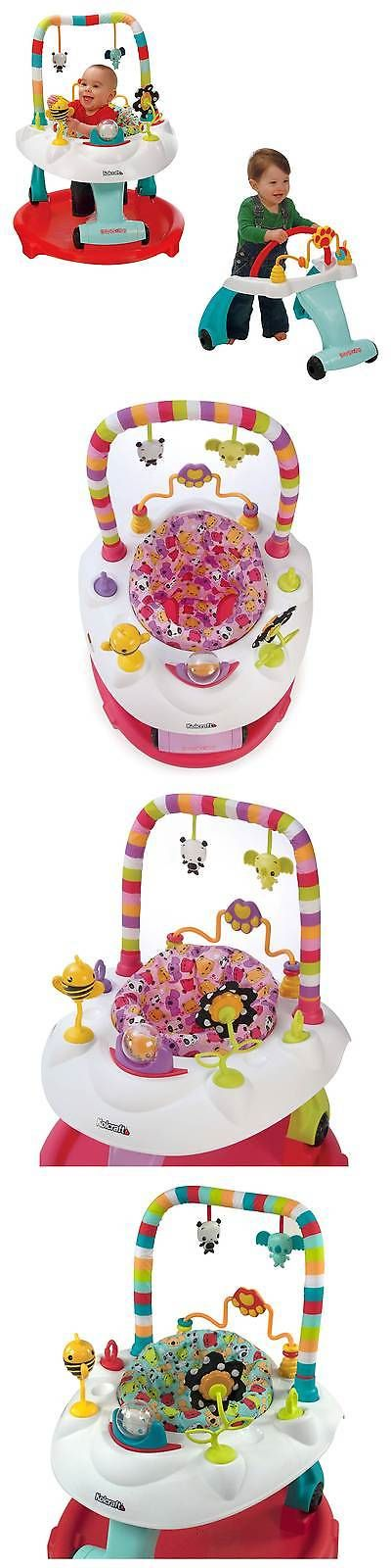 Activity Centers 20413: Kolcraft Baby Sit And Step 2-1 Activity Center ->