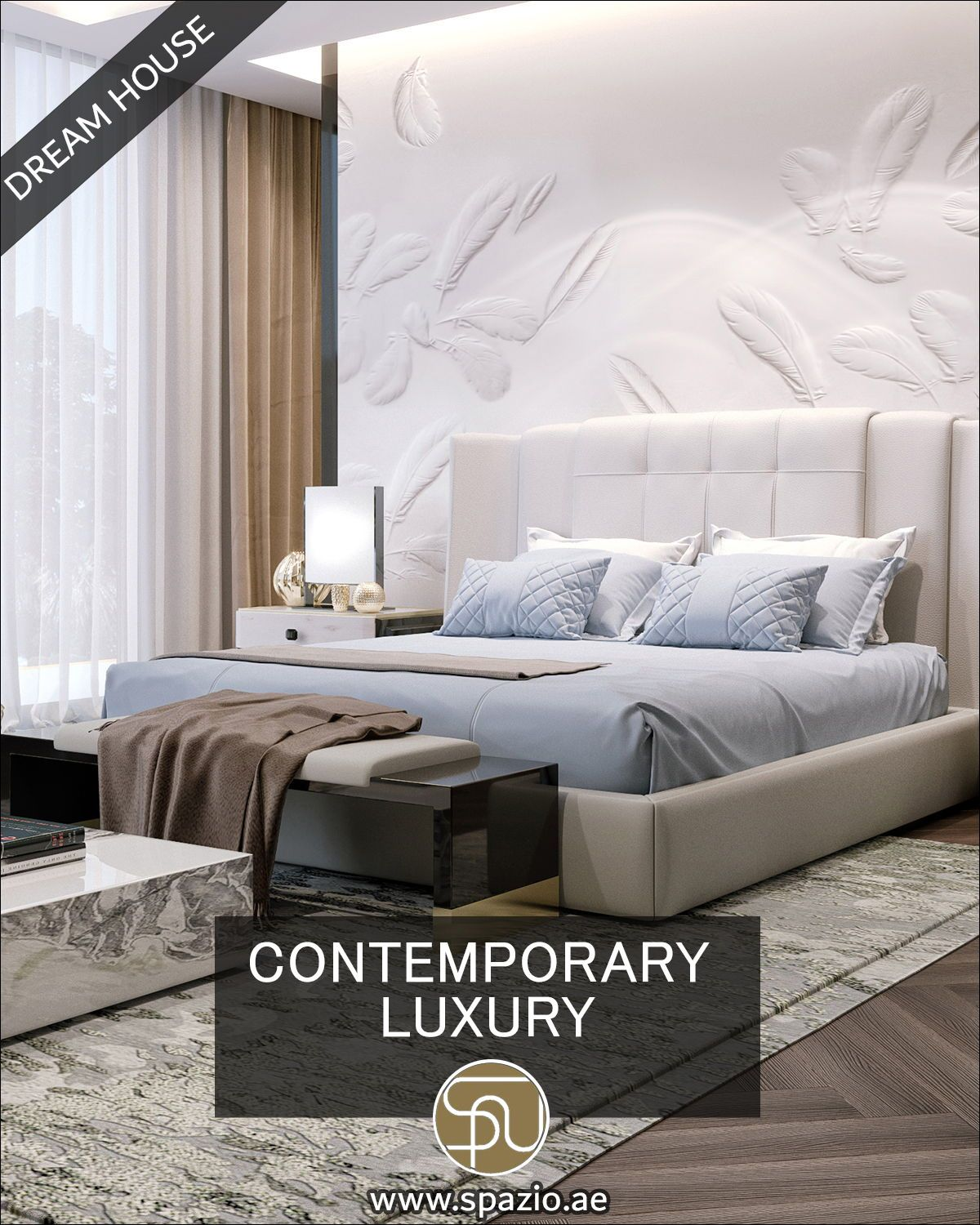 Classy large bedroom interior video for your inspiration in 8
