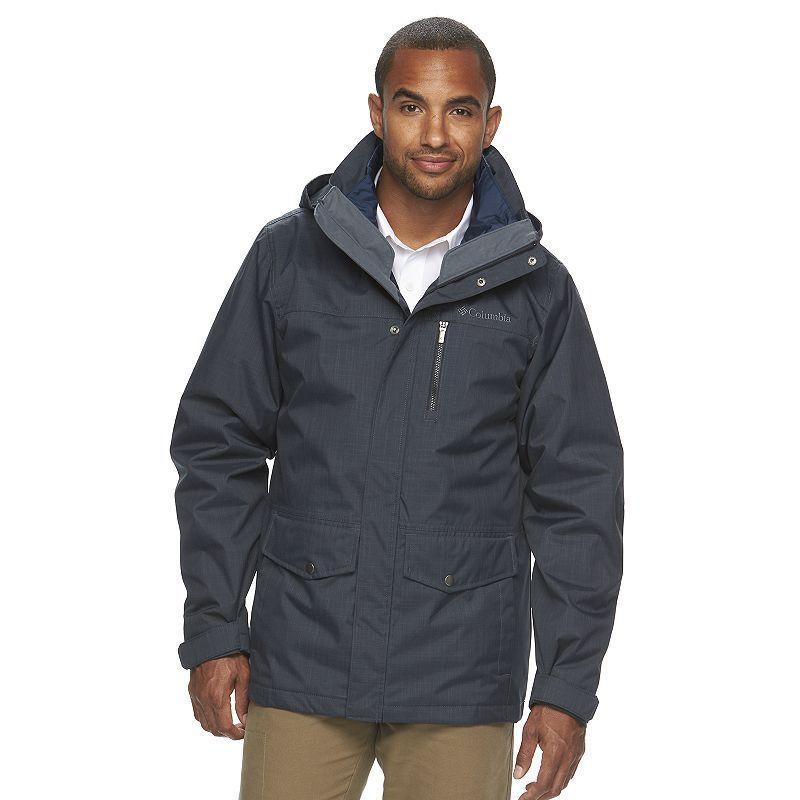 Columbia men's 3 in 1 system jacket