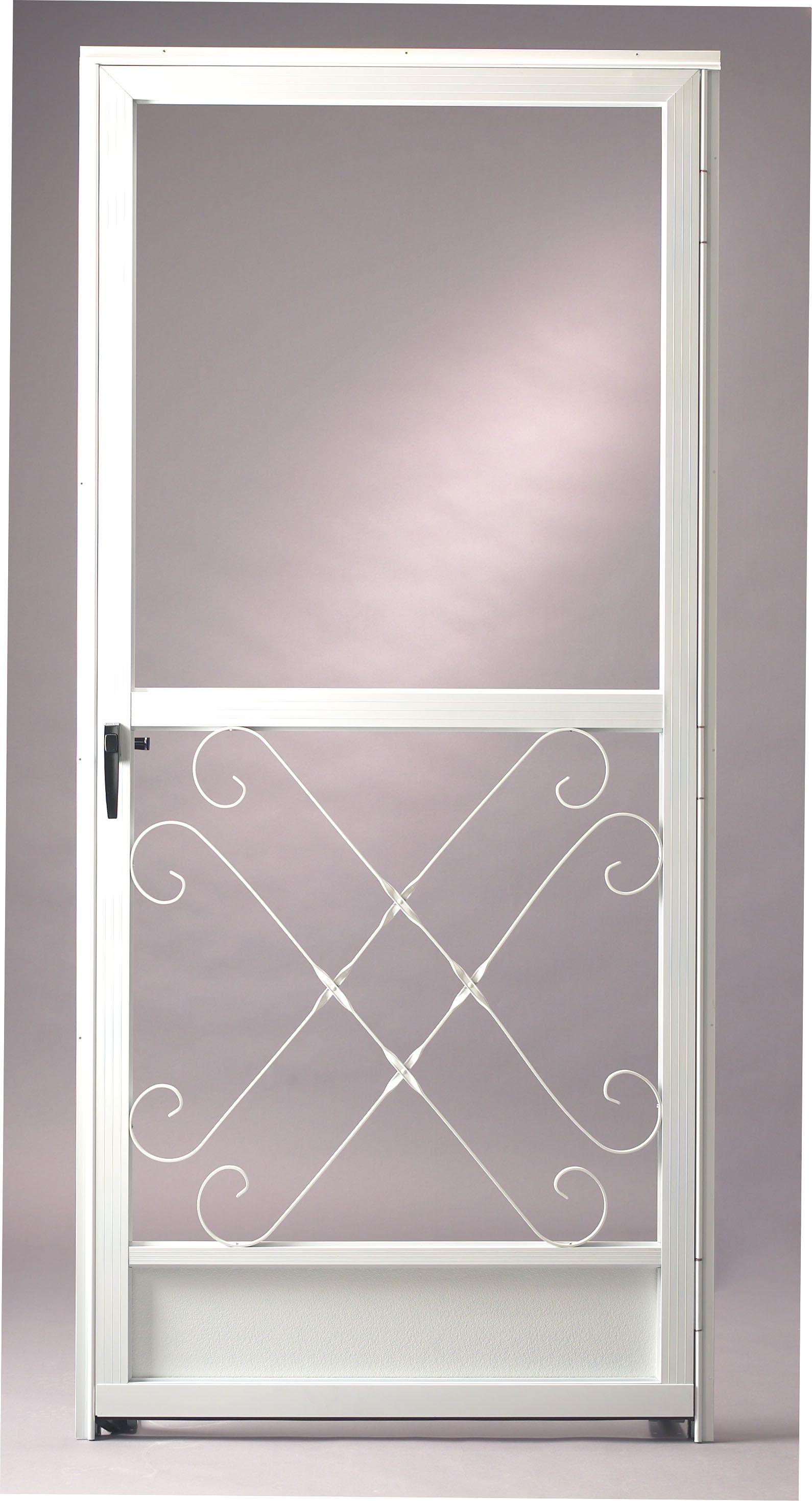 Reliabilt White Aluminum Screen Door