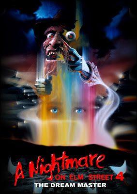El Oscuro Rincón Del Terror Pesadilla En Elm Street 4 El Amo Del Sueño Poster De Peliculas Peliculas De Terror Pesadilla En Elm Street