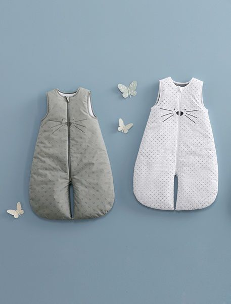 47d54d8ee9 Sleeveless Baby Sleep Bag For Use in a Car Seat - TOG 2 WHITE CAT ...