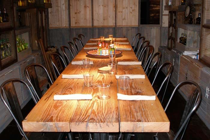 El Segundo Sol's Tequila Tasting Room Has Room For 14 Guests For Unique Stk Private Dining Room Inspiration Design