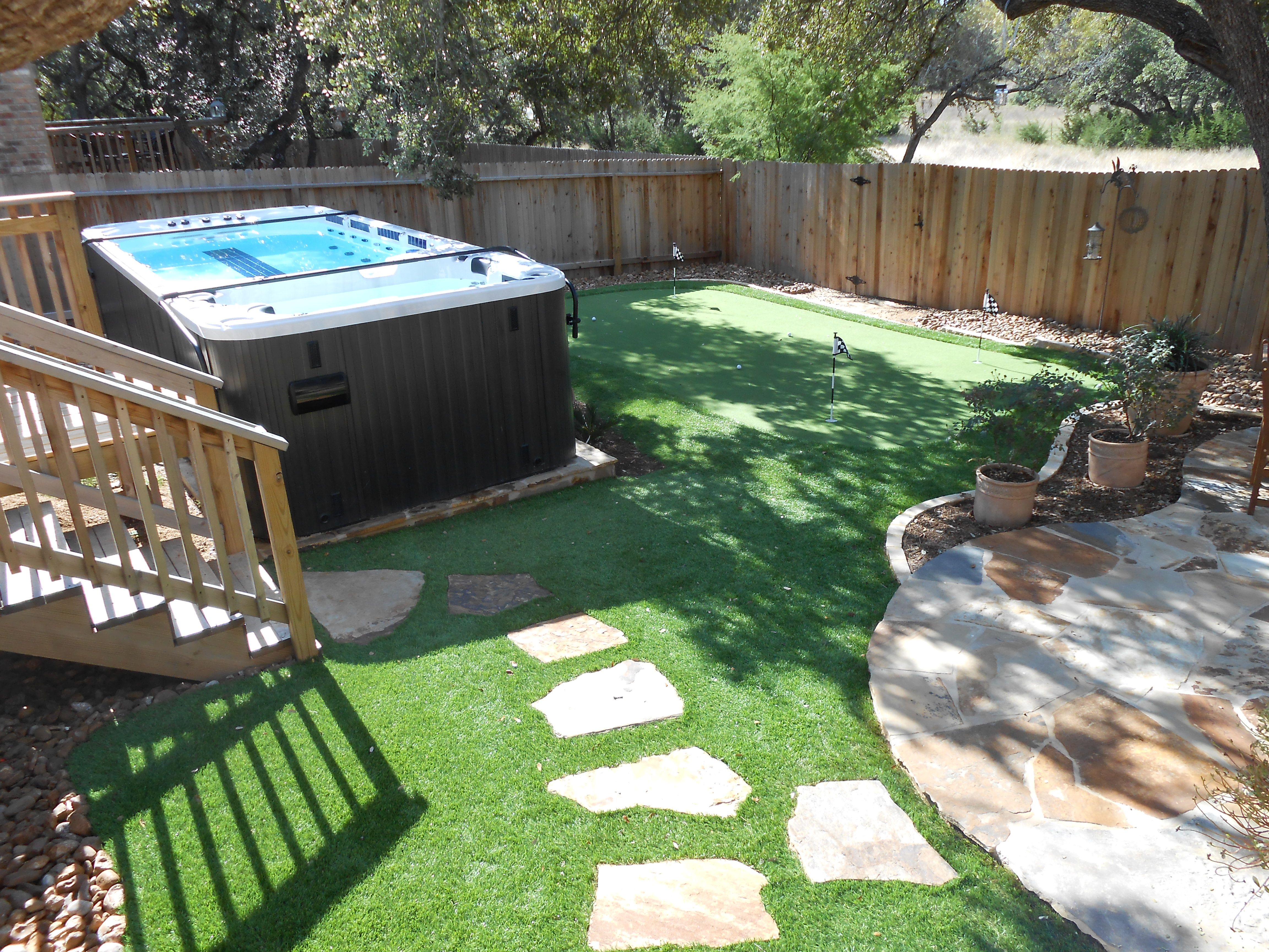 Swim Spa In A Small Space Above Ground Pool And Spa Company Blog