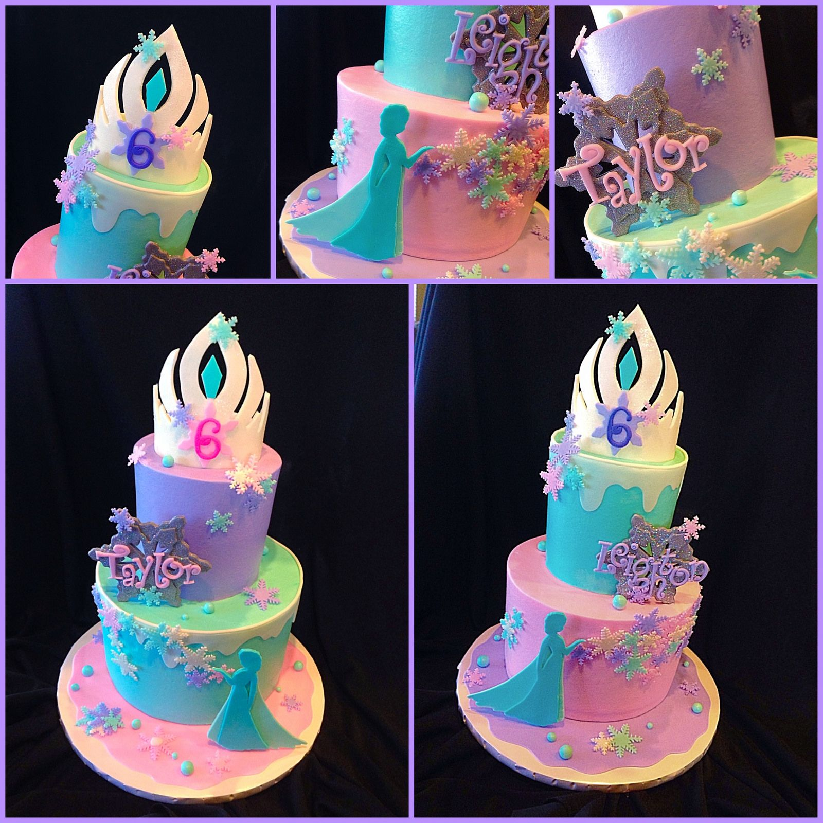 Admirable Beautiful Frozen Birthday Cake Frozen Cake 6Th Birthday Cakes Funny Birthday Cards Online Barepcheapnameinfo