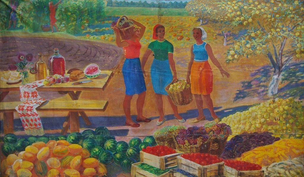 сюжетные картинки хлеборобы убирают урожай охлаждающую жидкость