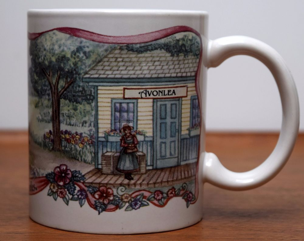 Details About Anne Of Green Gables Coffee Mug Avonlea