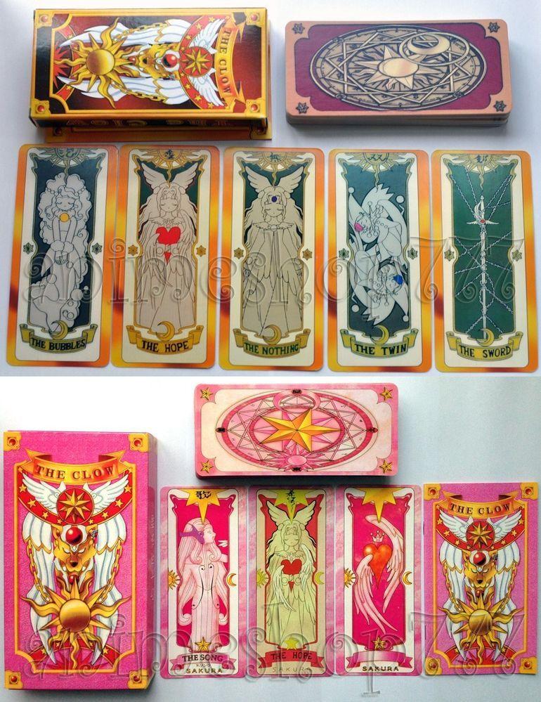 Anime Card Captor Sakura KINOMOTO SAKURA Cosplay Clow Cards Full Set Collection
