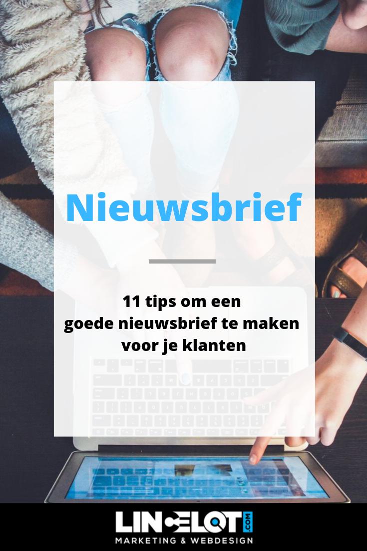 11 tips om een goede nieuwsbrief te maken voor je klanten