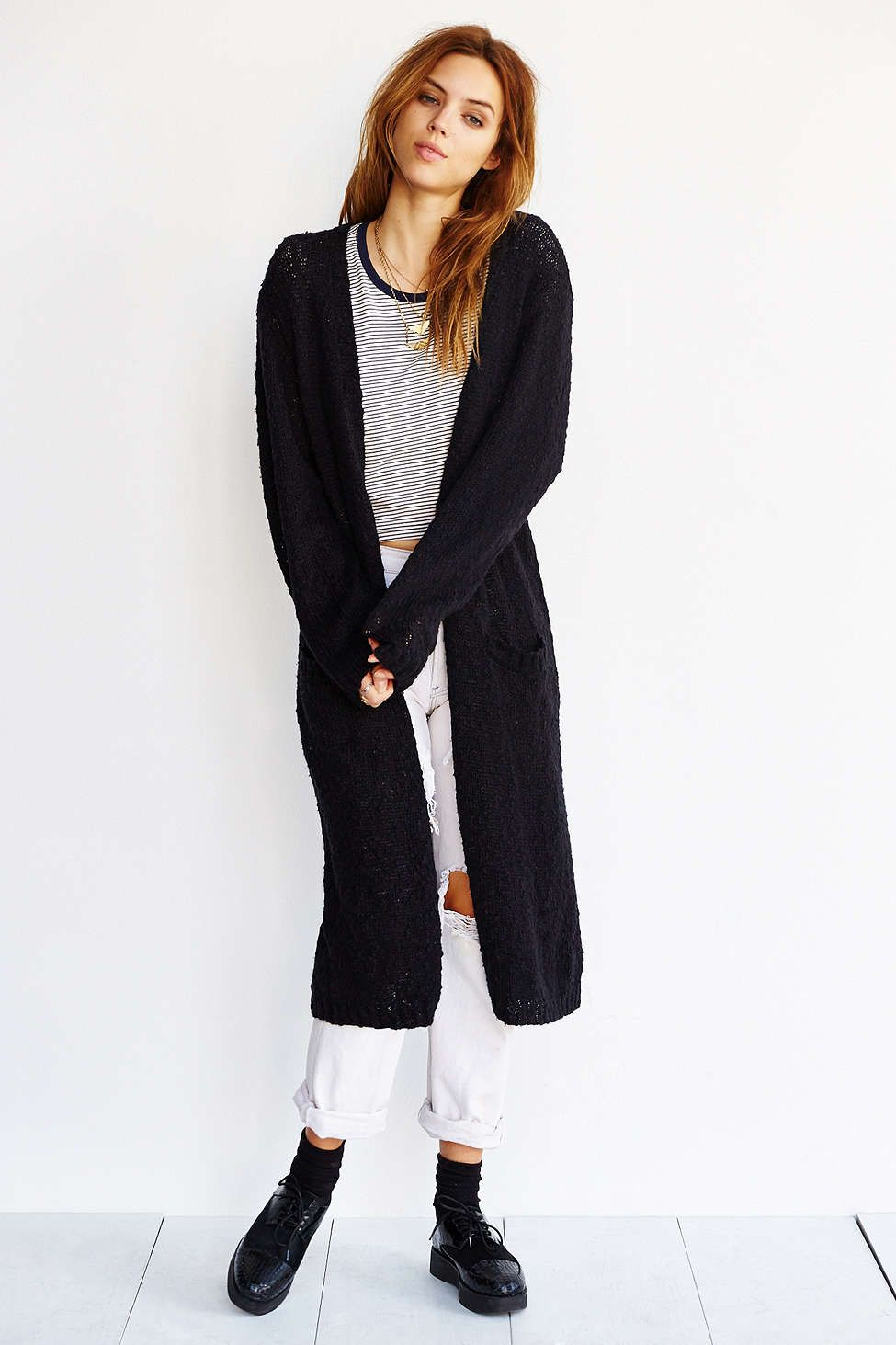 Cheap Monday Vain Maxi Cardigan - Urban Outfitters | cardigans ...