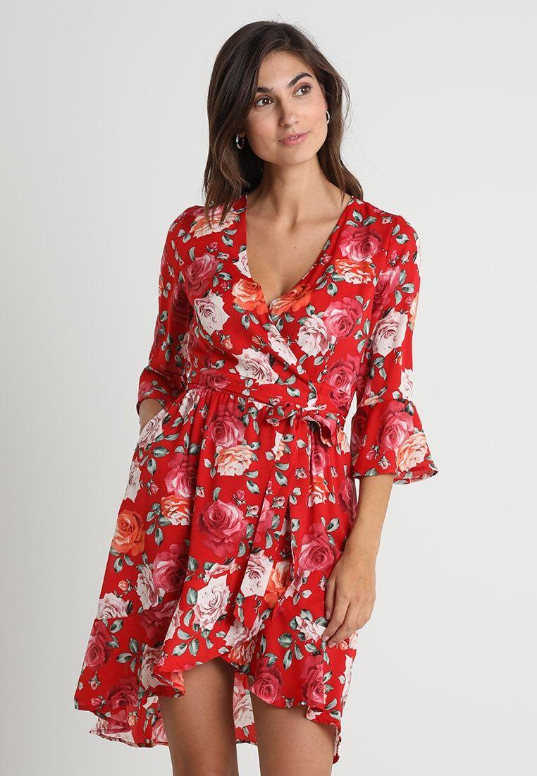 bc6ef08604e11 ADRIANE DRESS - Sukienka letnia - red   Zalando.pl 🛒 w 2019 ...