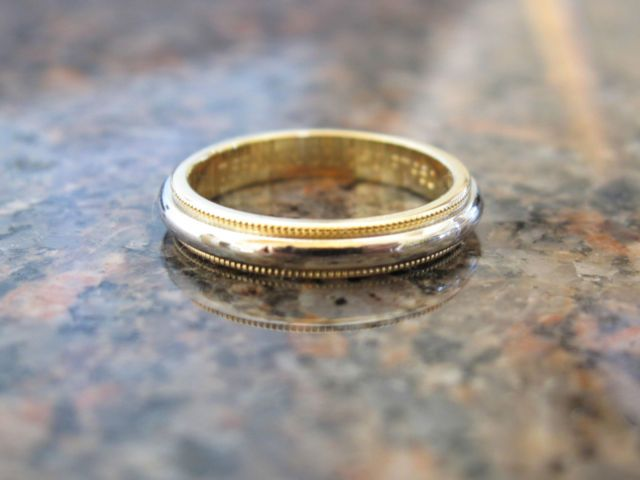 shop milgrain plain platinum gold arrivals yellow wedding kay mens band scott new