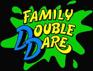 Family Double Dare Logo 1990 Png Double Dare My Childhood Memories Dares