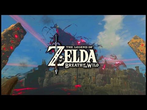 Entering Hyrule Castle The Legend Of Zelda Breath Of The Wild Breath Of The Wild Legend Of Zelda Calamity Ganon