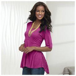 Lace Inset Tunic | K Jordan!