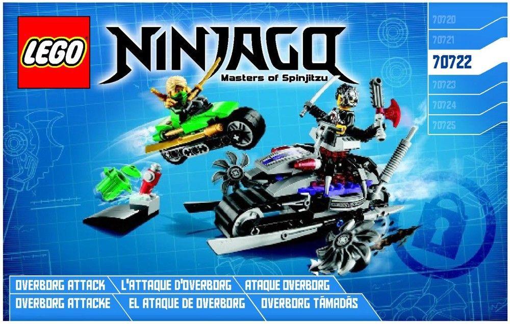 Ninjago Overborg Attack Lego 70722 Instructions Kids Toys
