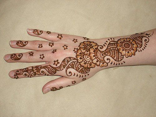 Mehndi Designs For Hands Very Simple : Latest arabic mehndi designs hand design new simple