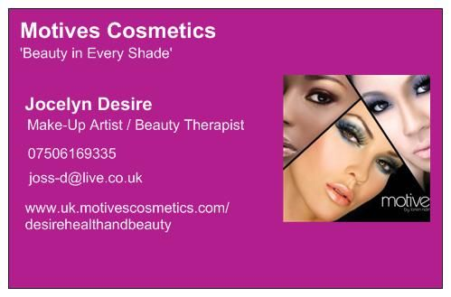 Business card motives cosmetics beauty products pinterest business card colourmoves