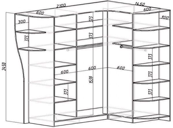 Гардеробная комната своими руками чертежи и схемы