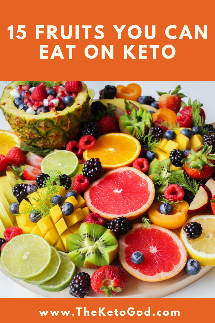 15 Fruits you can eat and stay in ketosis Keto recipes