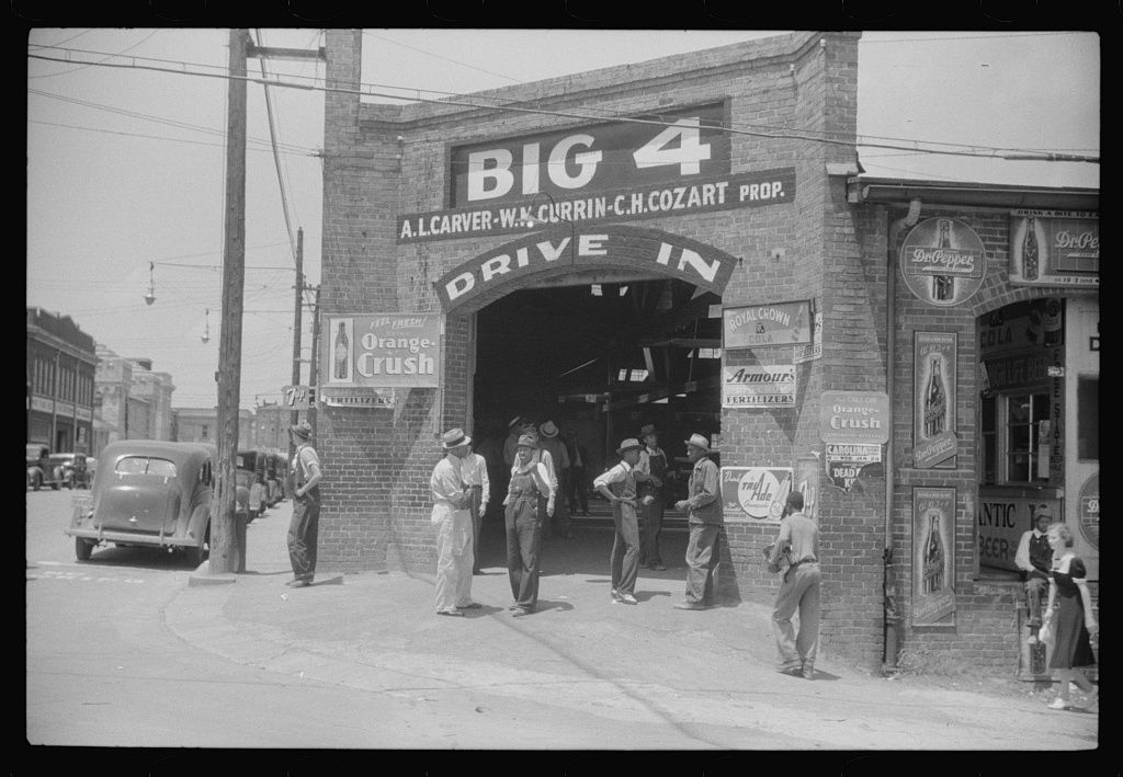 What North Carolina's Major Cities Looked Like In The 1940