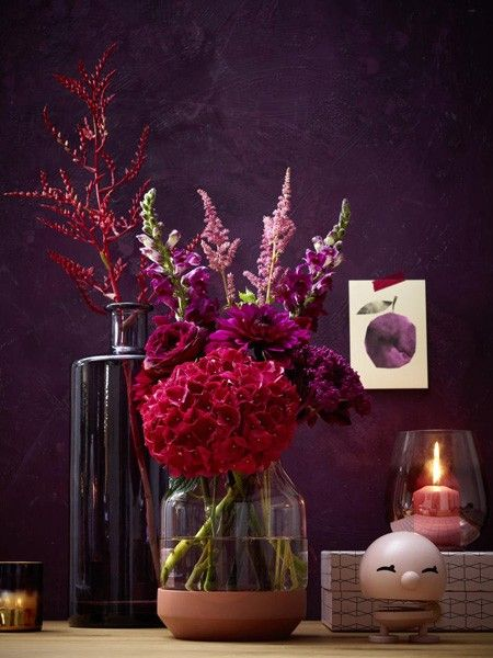 Herbstliche Blumenstrausse Zum Nachmachen Mit Bildern Lila