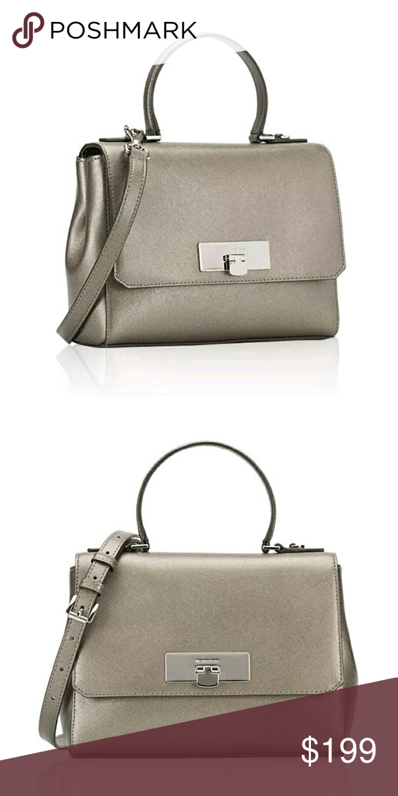 c515db36d19a7e MICHAEL KORS | Callie Messenger Satchel * MATCHING WALLET LISTED  SEPARATELY! * Saffiano leather *