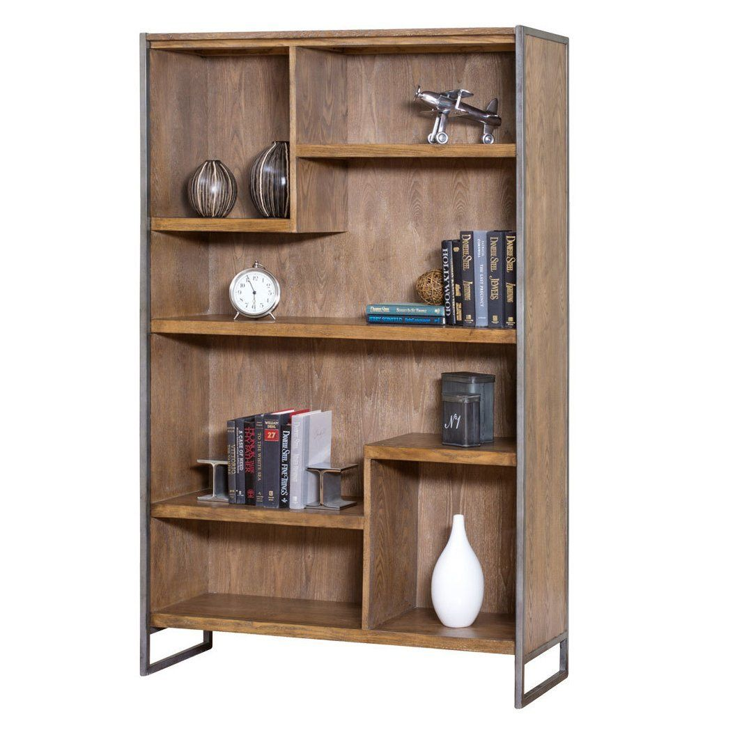 Amazon Com Kathy Ireland Home By Martin Belmont Bookcase Fully