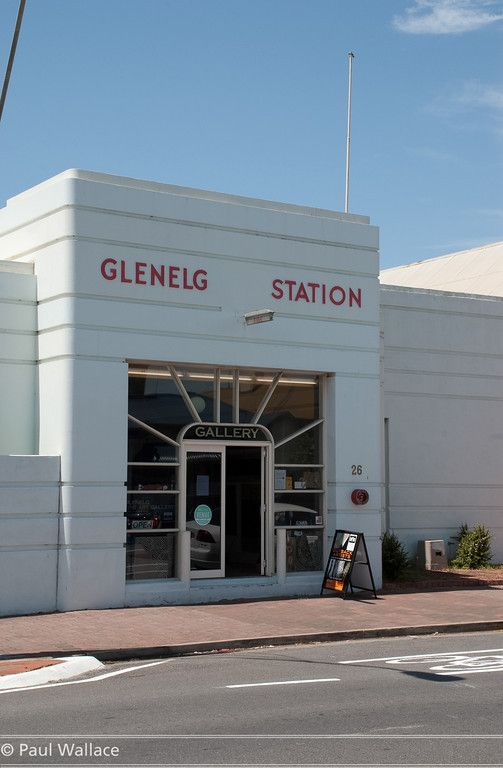 Glenelg, South Australia, old fire station | Art Deco