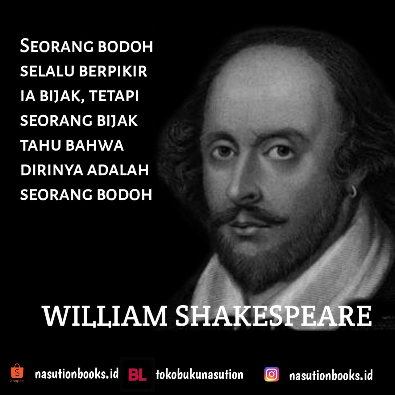 William Shakespeare Kutipan Inspiratif Kutipan Inspirasi Dan