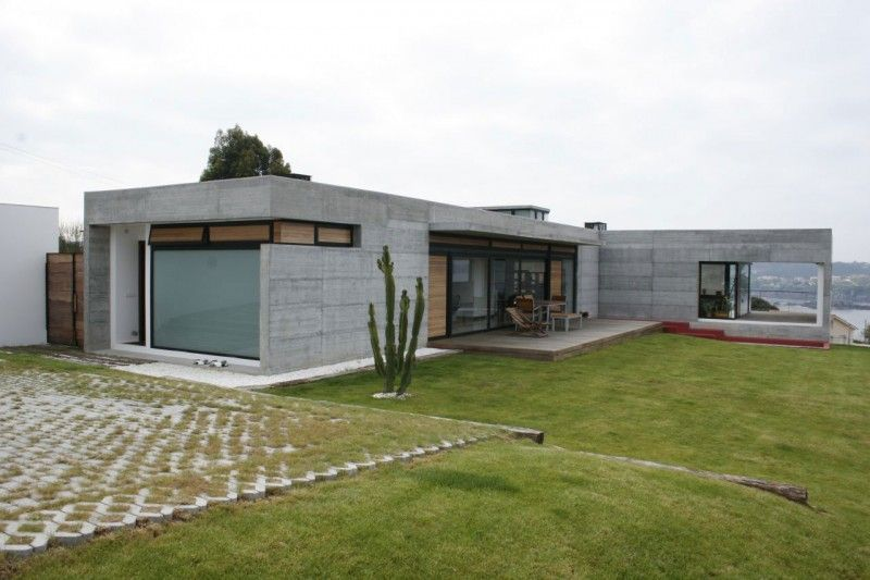 concrete panel house