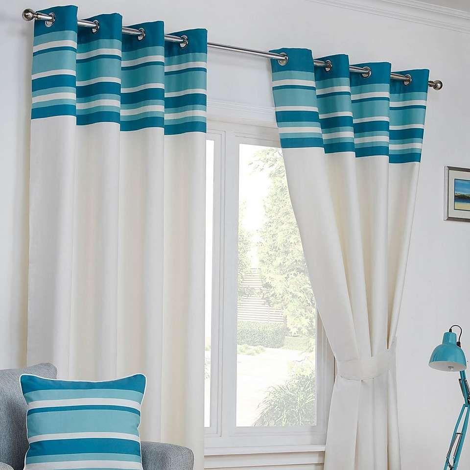 Stamford Teal Eyelet Curtains   Dunelm   curtains   Pinterest   Teal ...