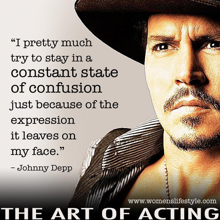 Johnny Depp quote ( I would agree with this one) i do that too. i dont try to i just am never with anyone else. :)