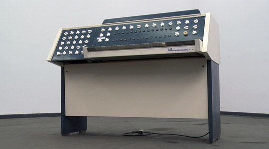 Subharchord, GDR synth, to be featured at CTM Festival in Berlin.