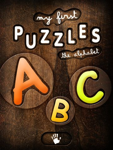 My First Puzzles: Alphabet - an Educational Puzzle Game for Kids for Learning Letter Shapes - Kids iPad App