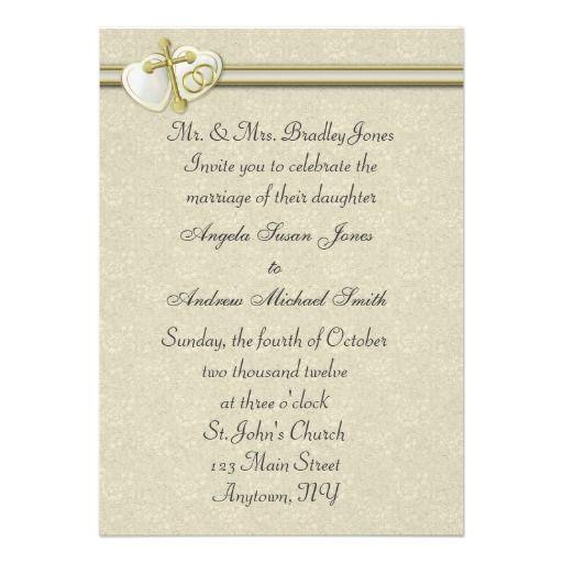 Catholic Wedding Invitations: Christian Wedding Invitation