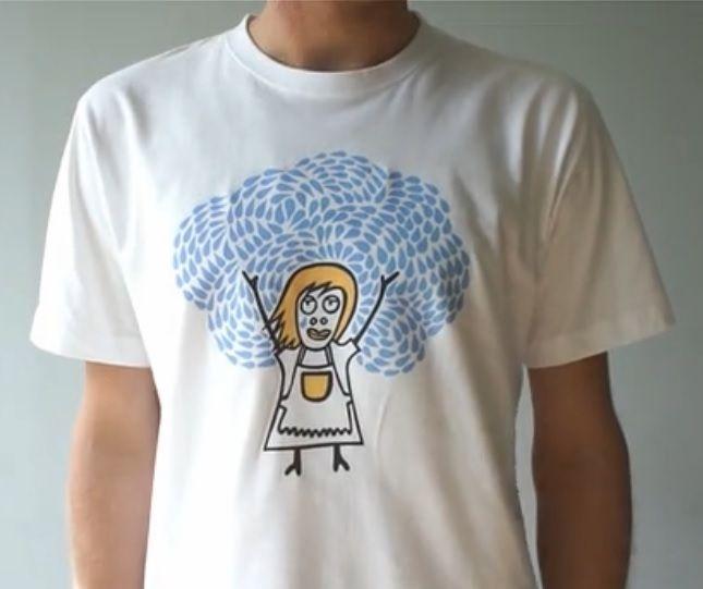 もうママを泣かせない!? 洗濯初心者でも間違えずに洗濯できるTシャツ  |  AdGang