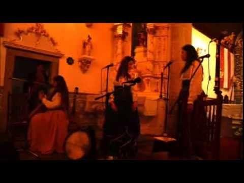 Origo - Neo Medieval Vocal Ensemble Live at Festa do Bodo Portugal Vila Pouca da Beira