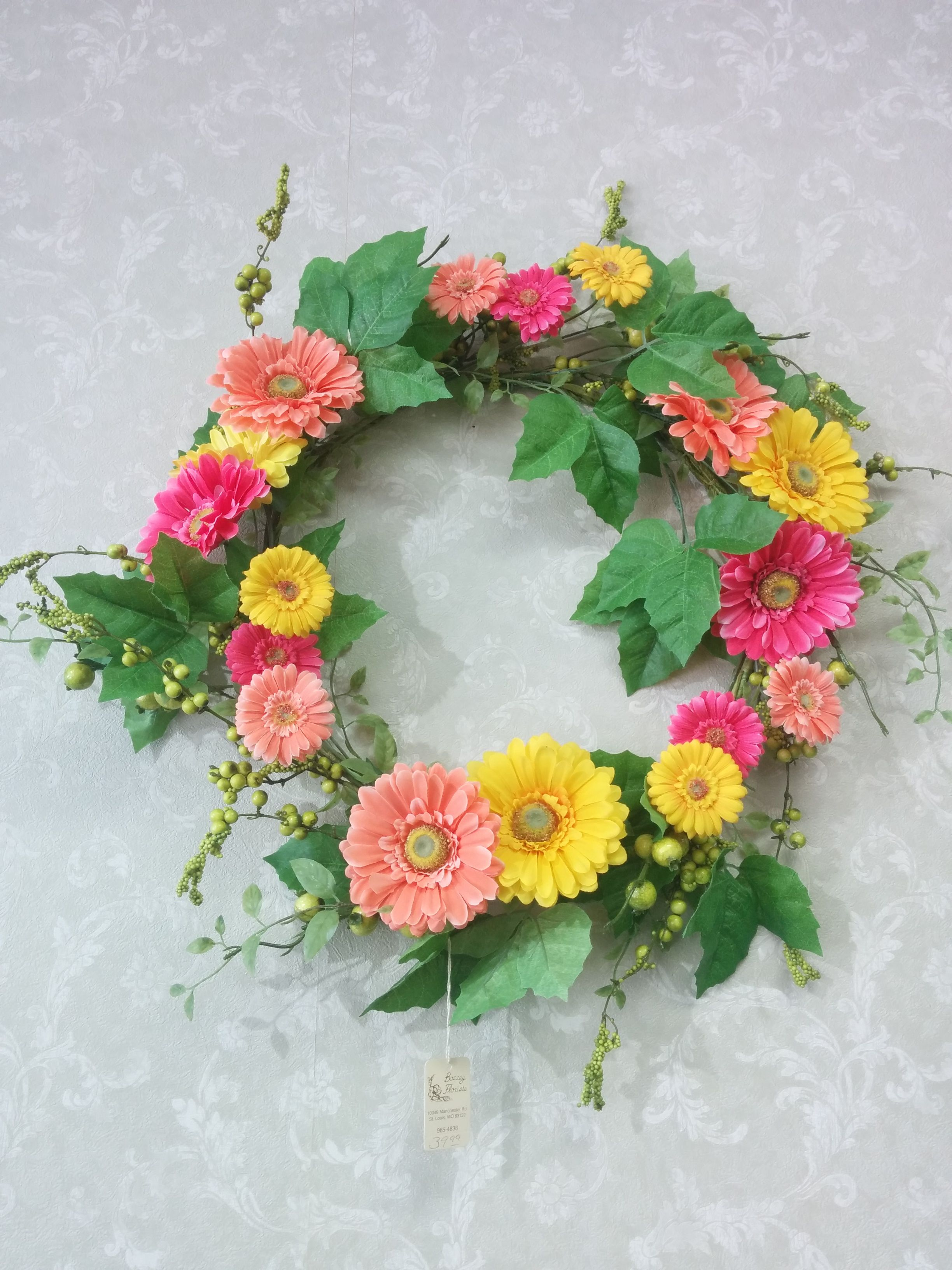 Looking For That Perfect Silk Wreath Come In And Check Out Our