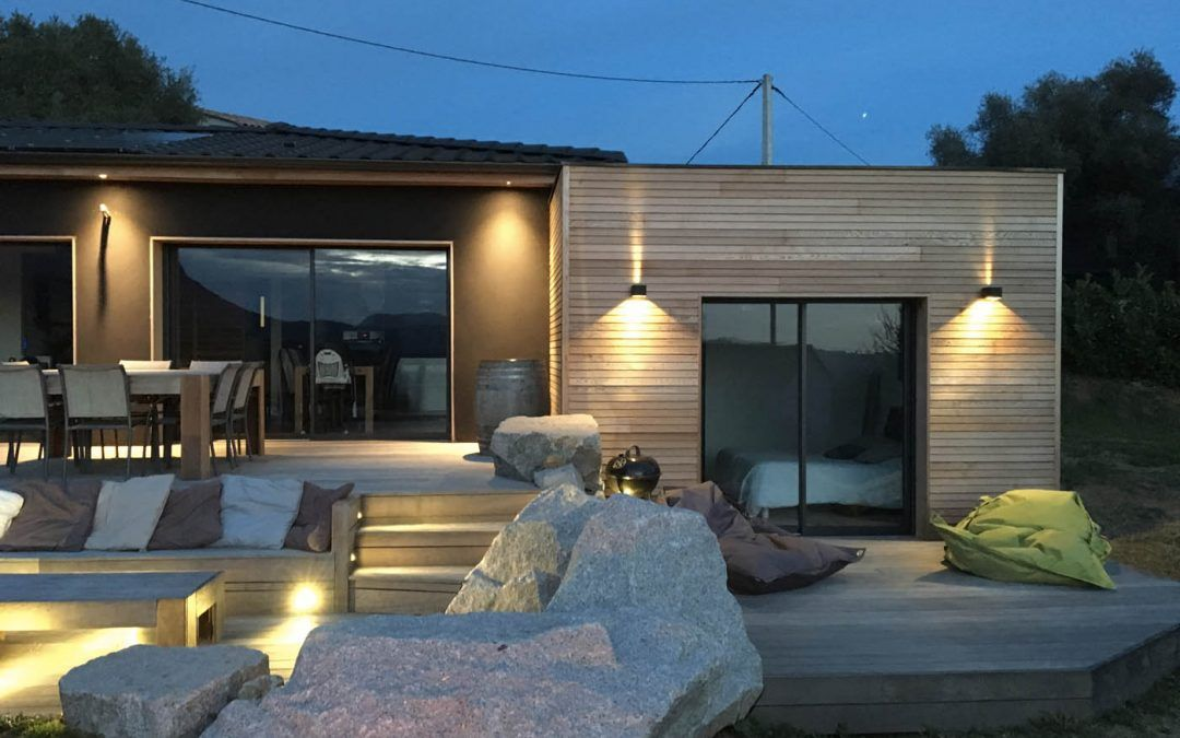 R sultat de recherche d 39 images pour maison bois toit for Recherche constructeur maison bois