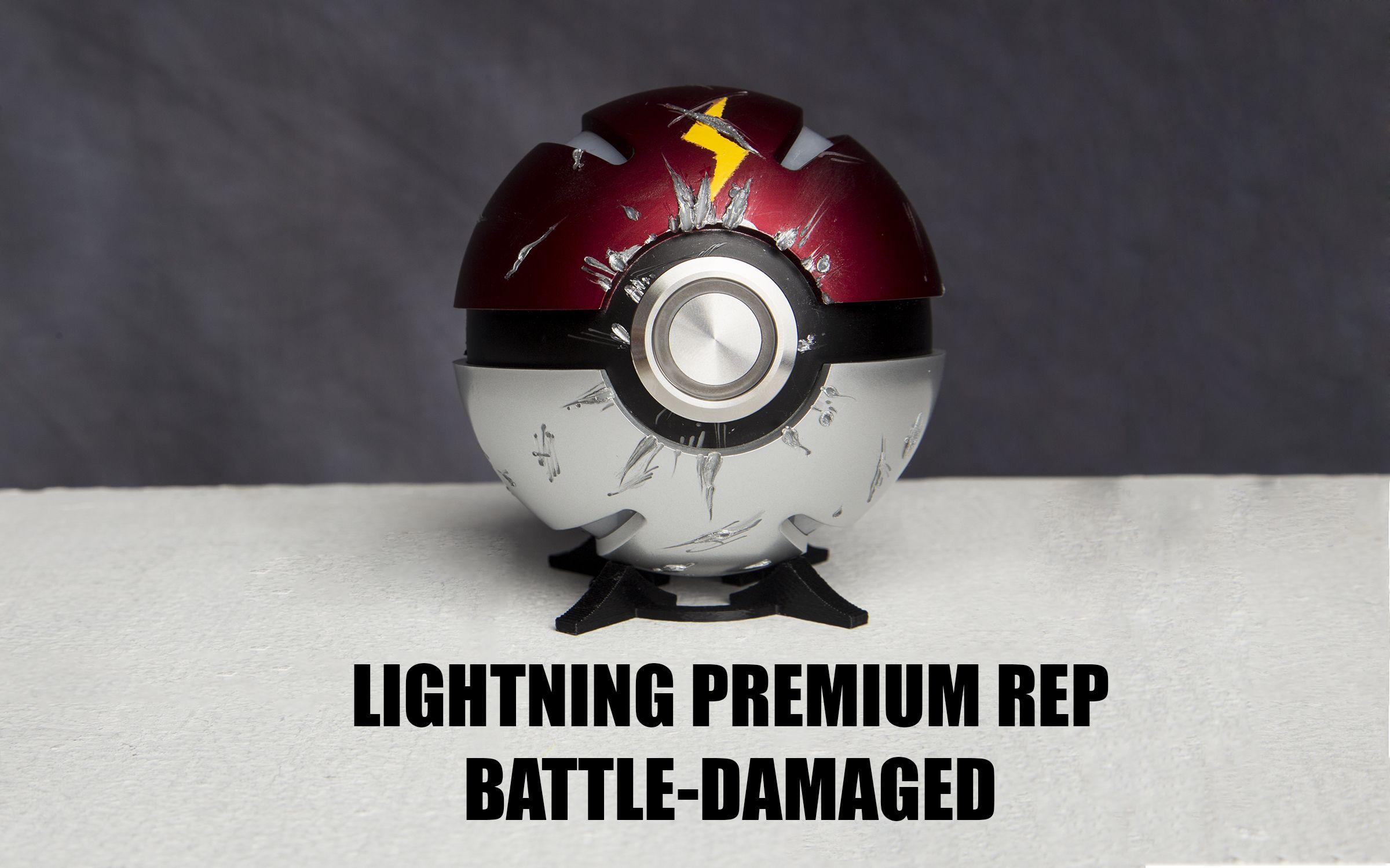 Premium Phoenix Orb Lightning Rep Battle Damaged The Phoenix Orb