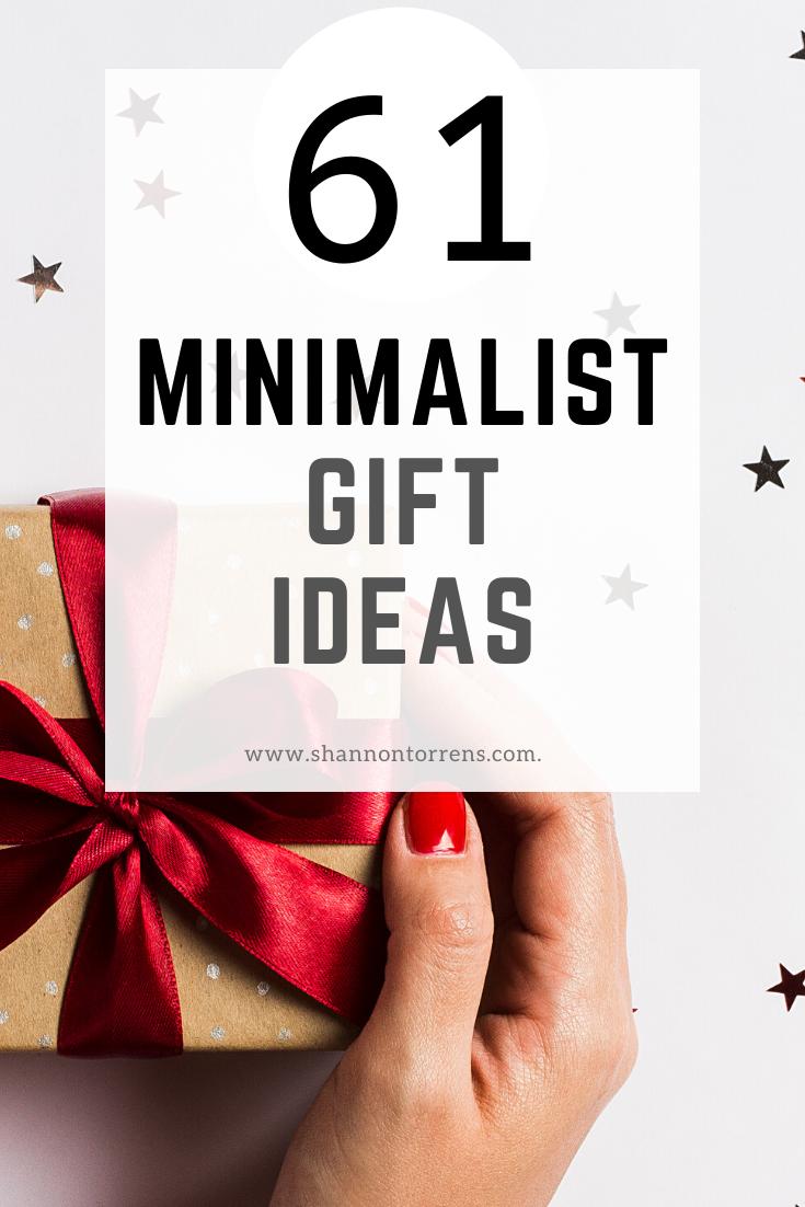 61 Minimalist Gift Ideas in 2020 Minimalist gifts