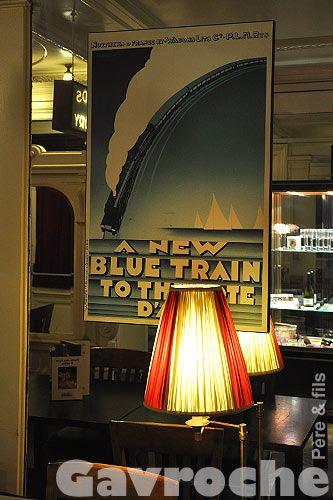 Le Petit Train Bleu Lyon : petit, train, Train, Restaurant, Mythique, Bleu,, Lyon,
