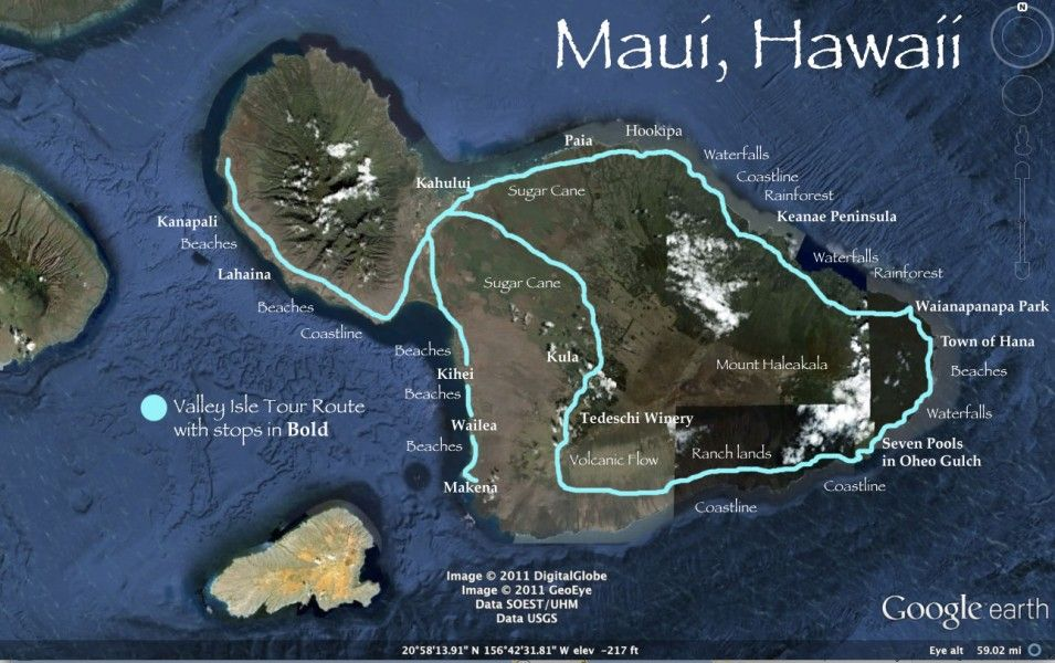 Valley Isle Excursions - Maui\u0027s Best Road To Hana Tour Nice places