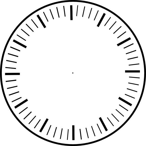 Clock Face Printable Clock Faces Clipart Best Clipart