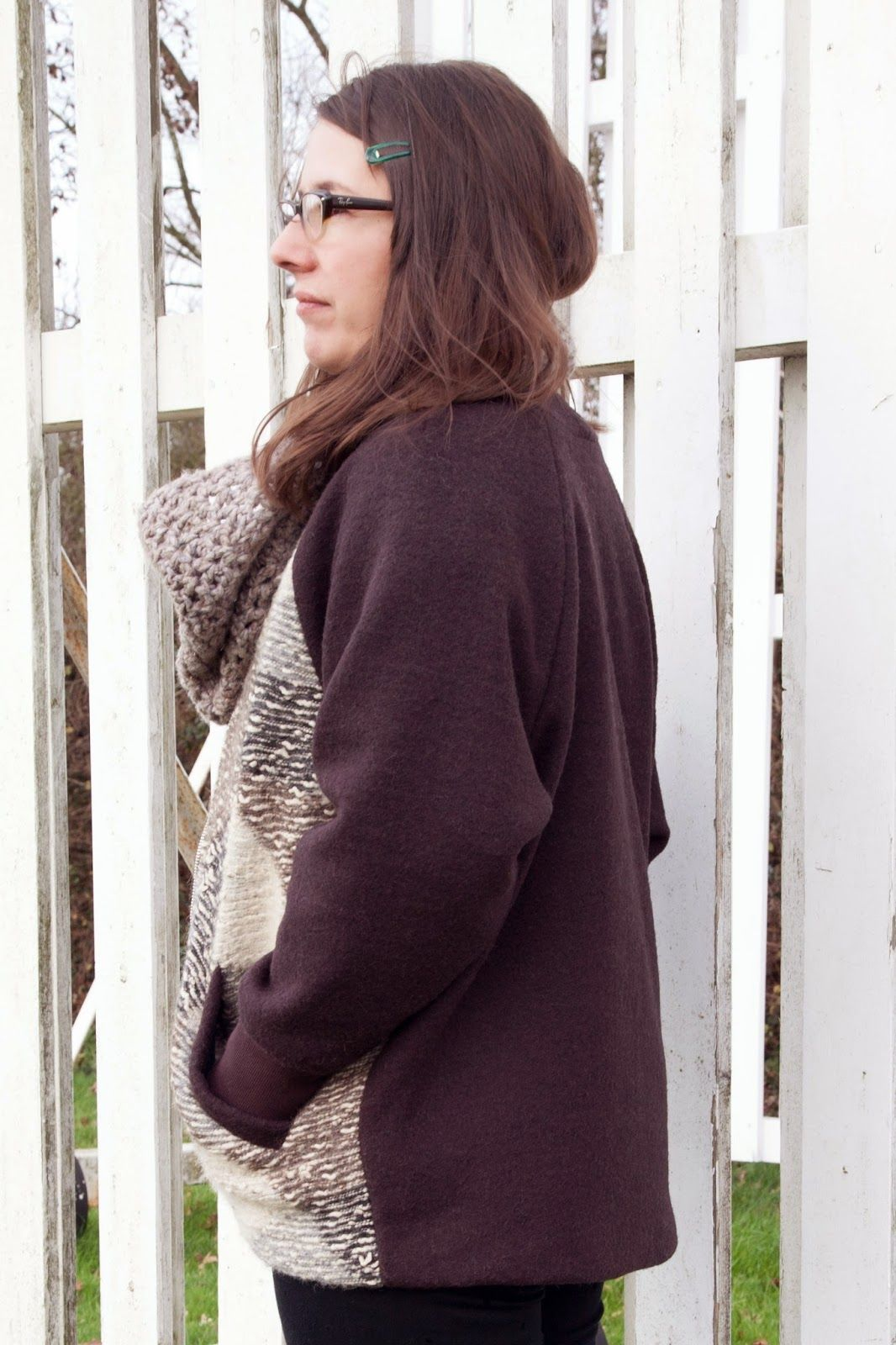 Freemantle coat pattern - view c