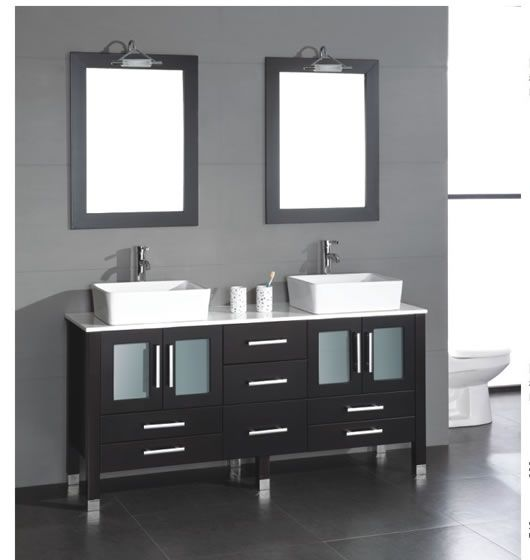 Acer 71 With Images Black Vanity Bathroom Double Vanity