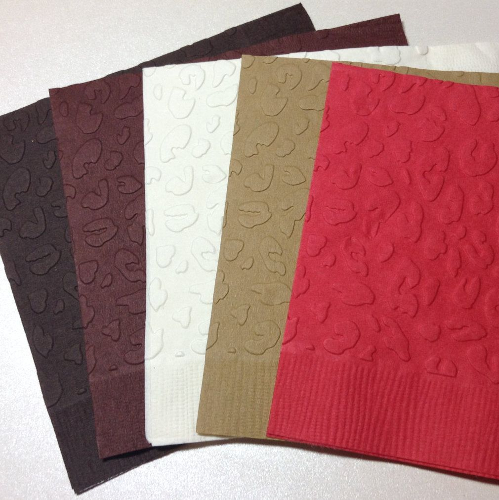 Leopard Print Napkins Cloth - The Best Leopard Of 2018